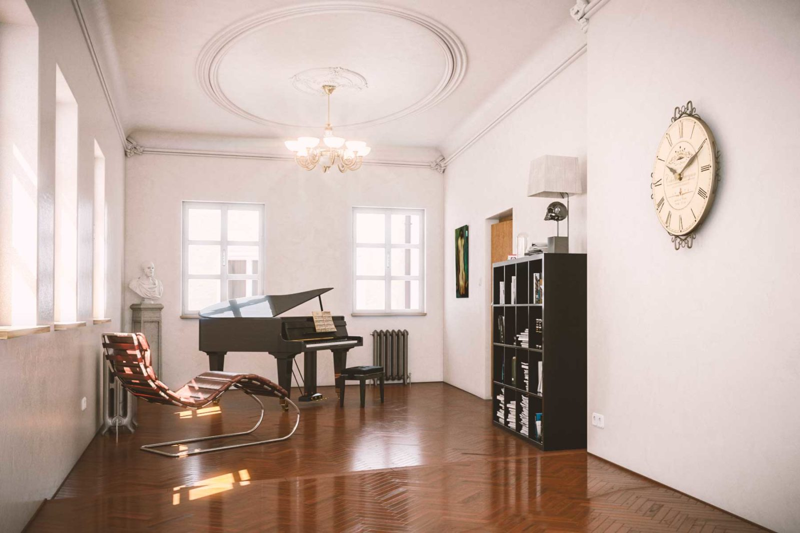 Visualisierung Umbau Wohnhaus Nonntal Salzburg