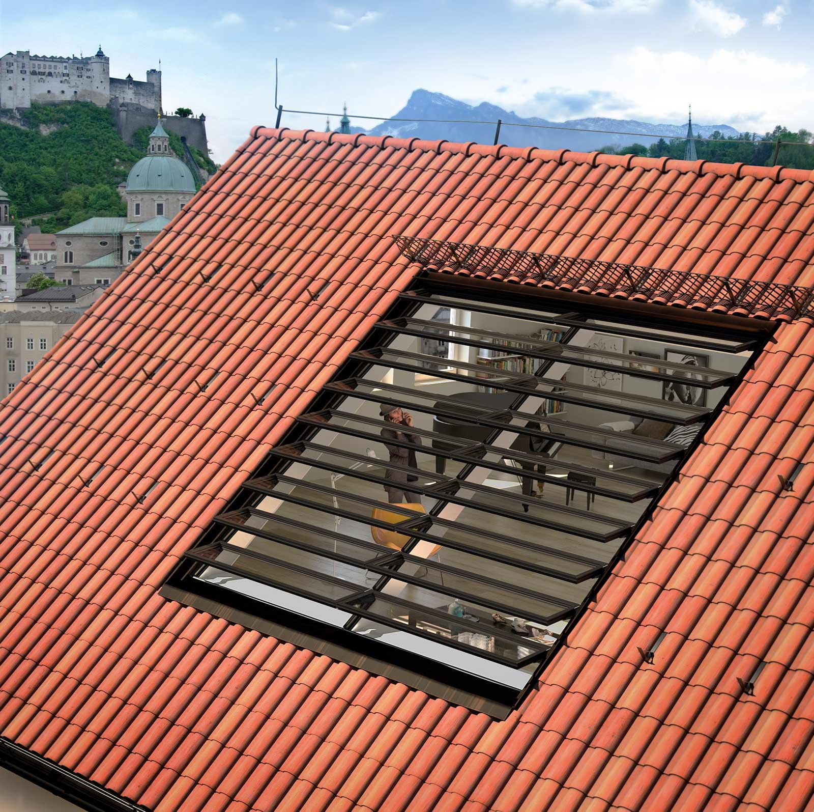 Vallona Dach Exterieur