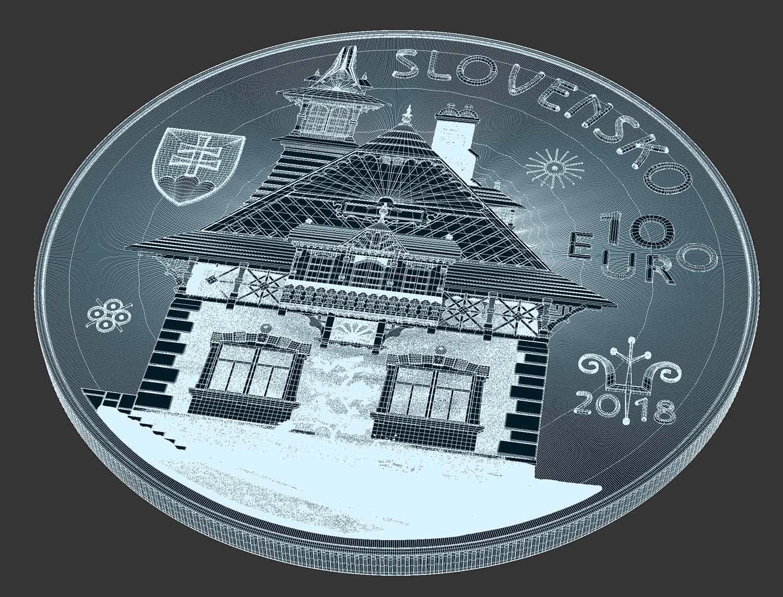 3D Modell Münze