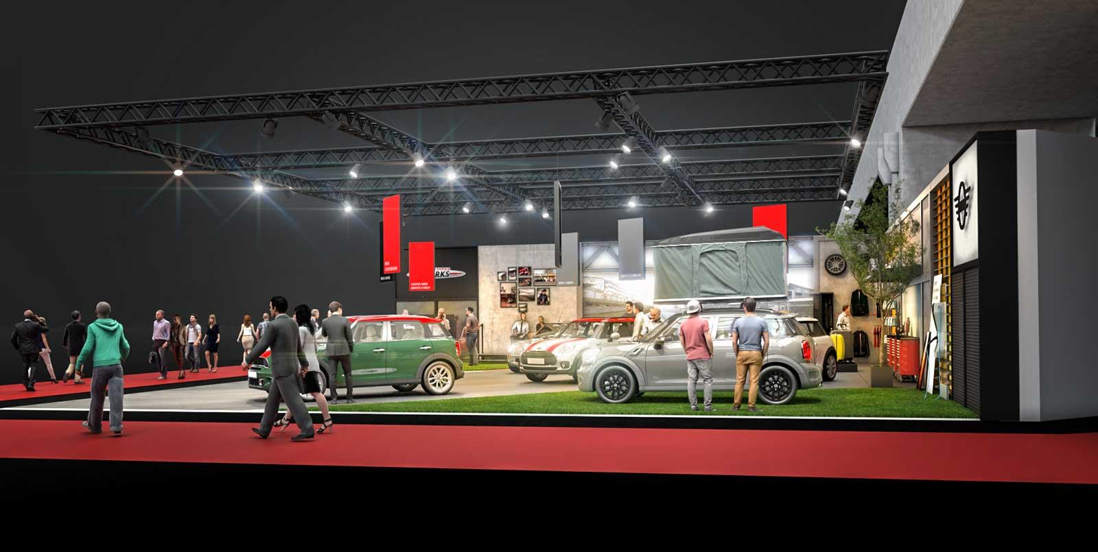 2. MINI auf Vienna Autoshow 2018