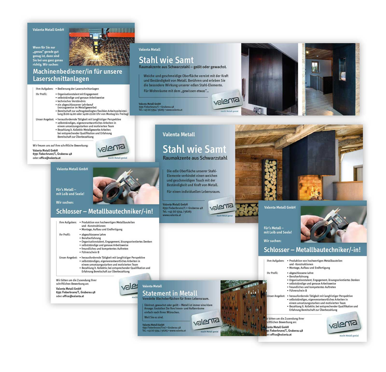 Valenta Metall GmbH: Anzeigen