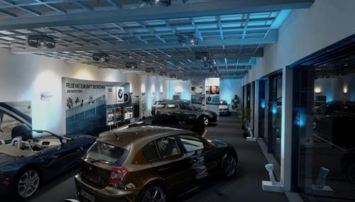 BMW EfficientDynamic HO LichtDesign Nacht Innen