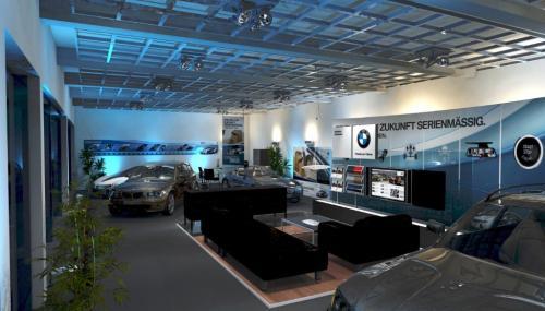 BMW EfficientDynamic HO LichtDesign Nacht Innen II