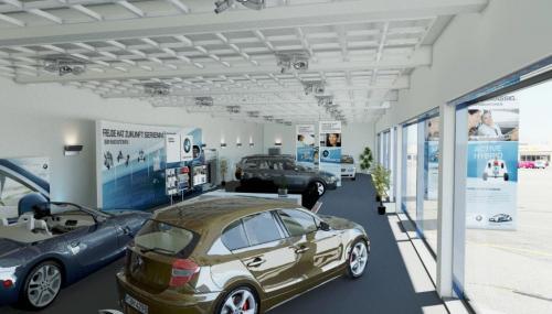 BMW EfficientDynamic HO LichtDesign Tag Innen
