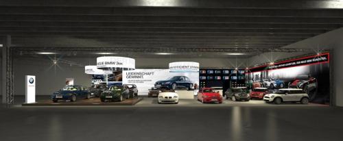BMW Autosalon Innsbruck front