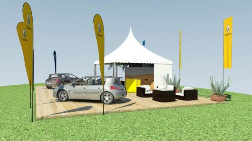 Renault Outdoor MesseStand