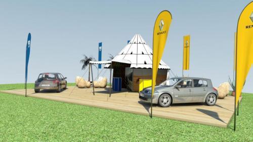 Renault Outdoor MesseStand II