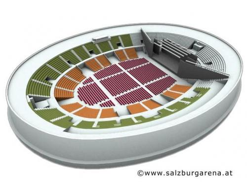 SalzburgArena Sitzplan