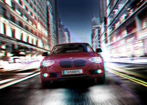 BMW 1er Mailer Stereoscopic