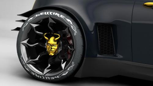 HELL MINI Wheel Detail