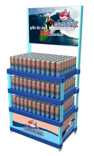 POS Dispenser Getraenkedosen