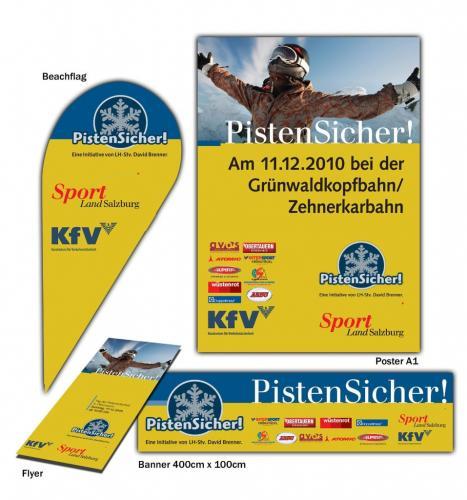 LR Salzburg Kampagne Pistensicher 2010