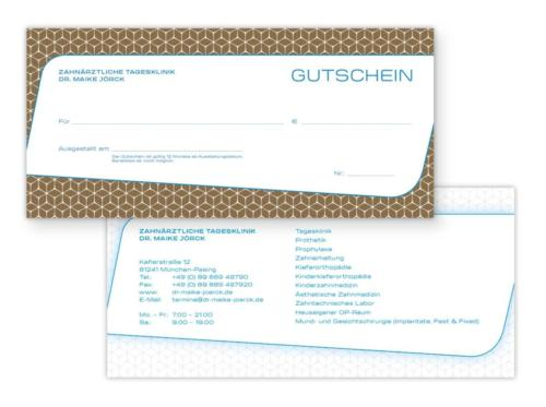 Zahnärztliche Tagesklinik Dr. Maike Jörck GmbH: Gutscheine