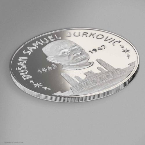 Münze D. Jurkovic Averz
