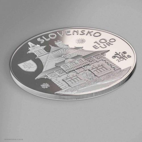 Münze D. Jurkovic Revers