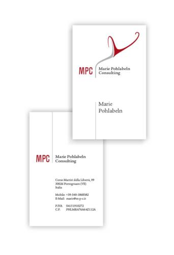 MPC Corporate Design: Visitenkarten