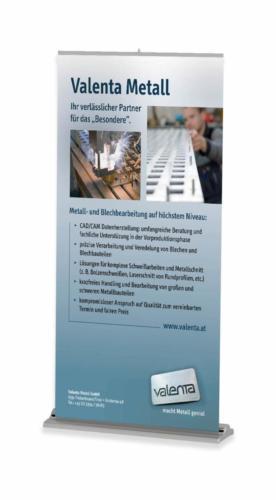 Valenta Metall GmbH - Rollup