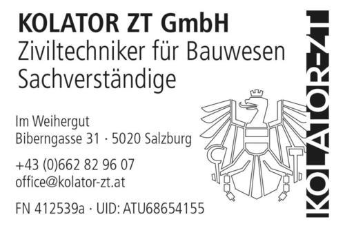 Kolator ZT GmbH: Stempel